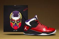 Jordan Brand Flight Tour Kicks | Dime Magazine (dimemag.com) : Daily NBA News, NBA Trades, NBA Rumors, Basketball Videos, Sneakers #shoes #design #masks #chinese #illustration
