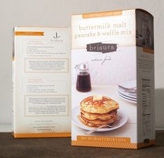 * Briaura : All-Natural Bakery Mix// FUNNEL #packaging