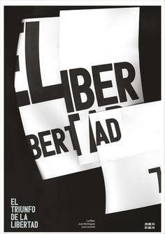 El triunfo de la Libertad Charlie-Camille Thomas poster design