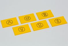 Artigiano by Post #print #graphic design #yellow