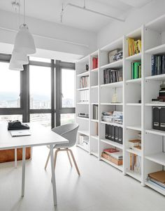 Workspace. Tsai Residence by Tai & Architectural Design. #workspace #taiandarchitecturaldesign #minimalist