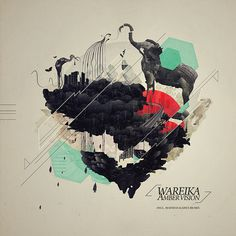 WAREIKA - AMBER VISION /COVER ART #illustration