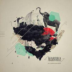 WAREIKA - AMBER VISION /COVER ART