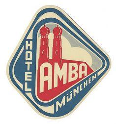 Typography / Hotel Amba