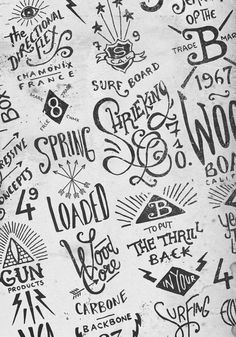 Hand lettering by BMD Design #lettering #logo #concepts #type #drawing #sketch