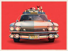 Ghostbusters 30th Anniversary Ecto-1 #ghostbusters #car #ecto