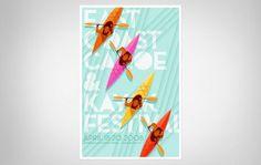 EAST_COAST_CANOE_AND_KAYAK.jpg (950×603) #jay #fletcher #poster #canoe #awesome
