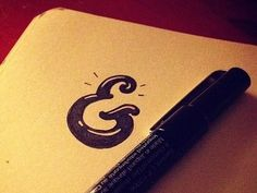 Tumblr_man48bjuyh1qe7h5do1_500 #type #ampersand #lettering #marker