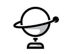 Orbit #illustration #slater #planet #orbit