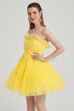 eDressit Lovely Yellow Star Red Carpet Cocktail Party Dress (04200203)