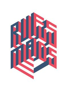 Rufus Mads Kamiel van Kessel #birth #lettering #card #design #graphic #mads #kamielvankesselcom #rufus #type