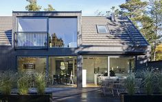 Project - Villa Lima - Architizer - Empowering Architecture: architects, buildings, interior design, materials, jobs, competitions, design schools #planters #modern #deck #landscape #architecture