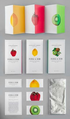 Brochure. #layout #fruit #minimal #brochure