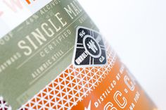 whiskey, wayward, orange, bottle, design, glass, spirits #whiskey #wayward #bottle #design #orange #glass #spirits