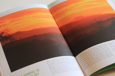 Over The Mountains & Around The Lakes - James Webber / Graphic Design #lakes #book #photography #lake #district