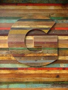 Baubauhaus. #colors #wood #design #typography