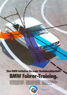 Vintage BMW Poster #bmw #vintage