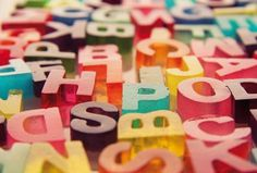 Just My Type #letters #inspira #bym #gelatine