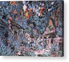 Margaret Acrylic Print featuring the painting Margaret Garden 1910 by Korovin Konstantin