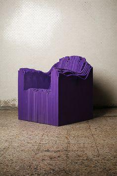 Plummer Fernandez #chair #lego #purple