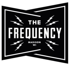 The Frequency : Mike Krol #logo #black and white
