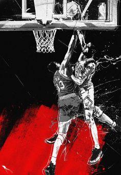 dunks : jtabije.com | jordan tabije + art direction #jtabije #ewing #dunks #pippen #dunk #scottie #bulls #patrick #nba #basketball #knicks