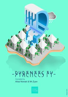 Pyrenees FY by Mr.Zyan on Behance #font #letters #typefont #lettering #tipography #type