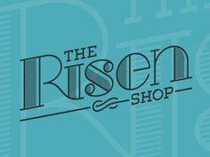 Dribbble - The Risen Shop Logo by Danny Zevallos