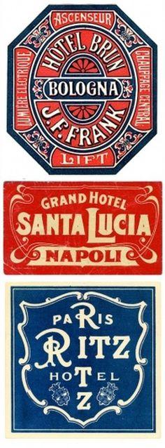luggage.jpg (Immagine JPEG, 380x1027 pixel) - Riscalata (73%) #hotel #typography