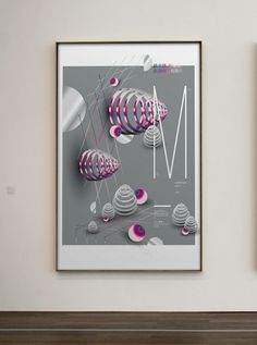 Fundamentals : Still Lives on Behance #abstract #poster