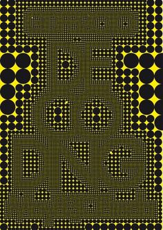 DECODING GDFB2010 - www.michielschuurman.com #design #poster #typography