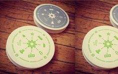 Awesome Beer Coasters by Riley Cran #brewery #beer #pictogram #print #coasters