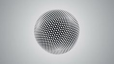 Spherikal | Fubiz™ #points #sphere