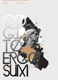 Auri Sacra Fames - Anthony Neil Dart #graphic #typography
