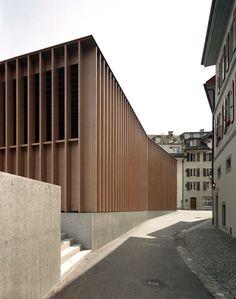 MILLER & MARANTA, Market Hall in Aarau #wood