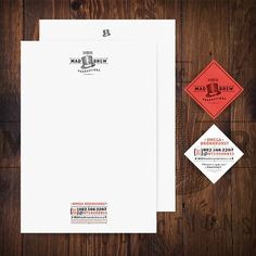 ts #hat #stationary #letterhead #mad #brew #productions