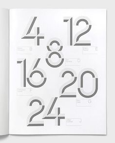 Eight Hour Day » Blog #type #numbers