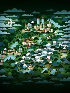 Switzerland - Society6 #design #graphic #illustration #switzerland #poster #art