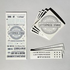 Letterpress Studio | Cast Iron Design Company #design #cast #iron #company