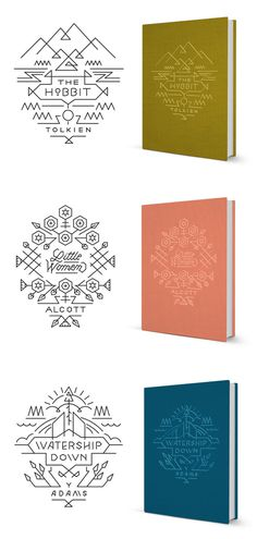 Bookcovers2 #book cover #illustration #monoline