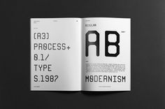#editorial #typography #layout #design #graphicdesign #printdesign #print #monospace #font #typeface