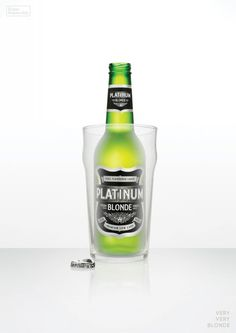 Glass | Platinum Blonde | Droga5 #design #graphic #blonde #droga5 #platinum