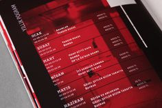 KREK / annual theater catalog on the Behance Network