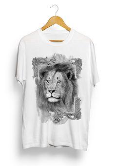 """Lion""   be.net/alexandreruda #lion #tshirt #illustration #alexandreruda"