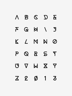 Synthetic Typeface Michelle Wang #font