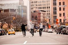 downtownfrombehind #varick #bike #street #york #new