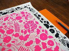 Miss Moss #pink #print #pattern