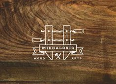 Michalovic Wood Arts : Arts #logo branding
