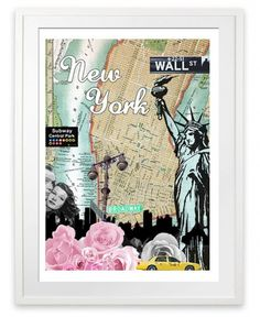 poster-2-city-art-new-york-2-i-love-design_190277831.jpg (500×612) #york #new