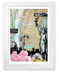 poster-2-city-art-new-york-2-i-love-design_190277831.jpg (500×612) #york #new